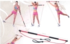 Aerobic tyč  shaper stick Gymex 130cm medium -